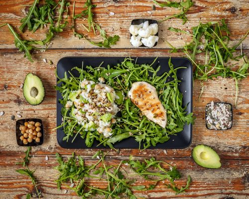 Healthy homemade diet food